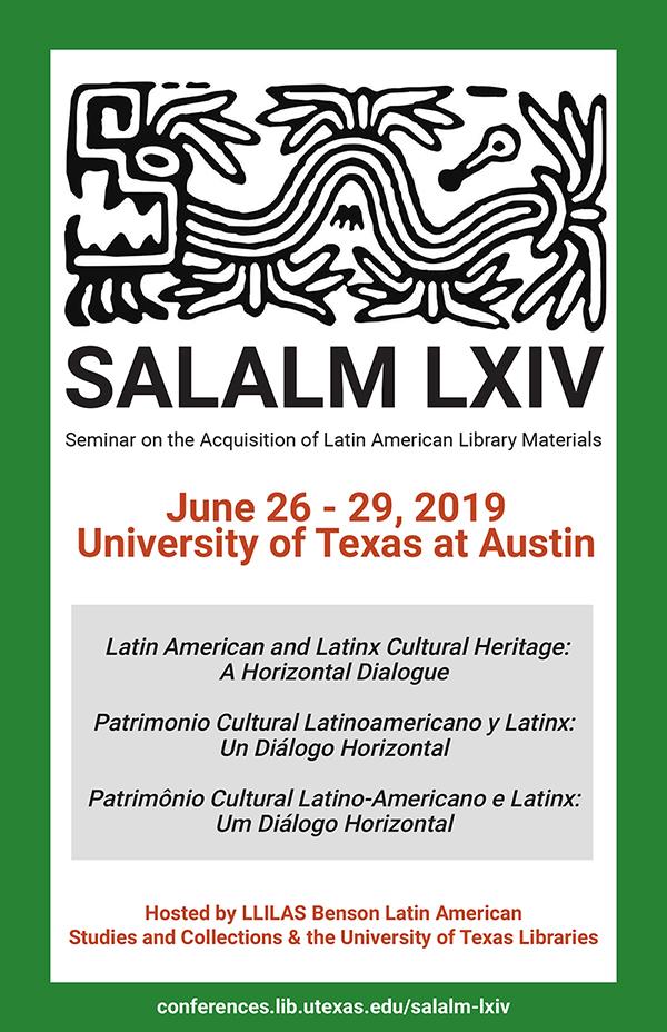 SALALM 2019 Program